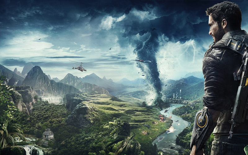 Just Cause 4 Gameplay Trailer Spins Out Of Control