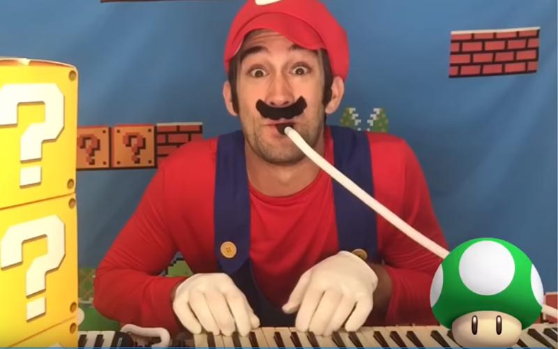 Super Mario Gets A Super Melodica Medley