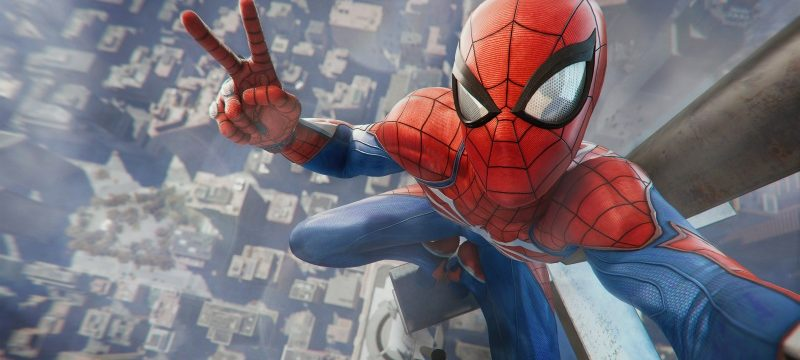 Spider-Man PS4 Header