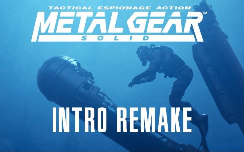 Fan Remake Metal Gear Solid Intro