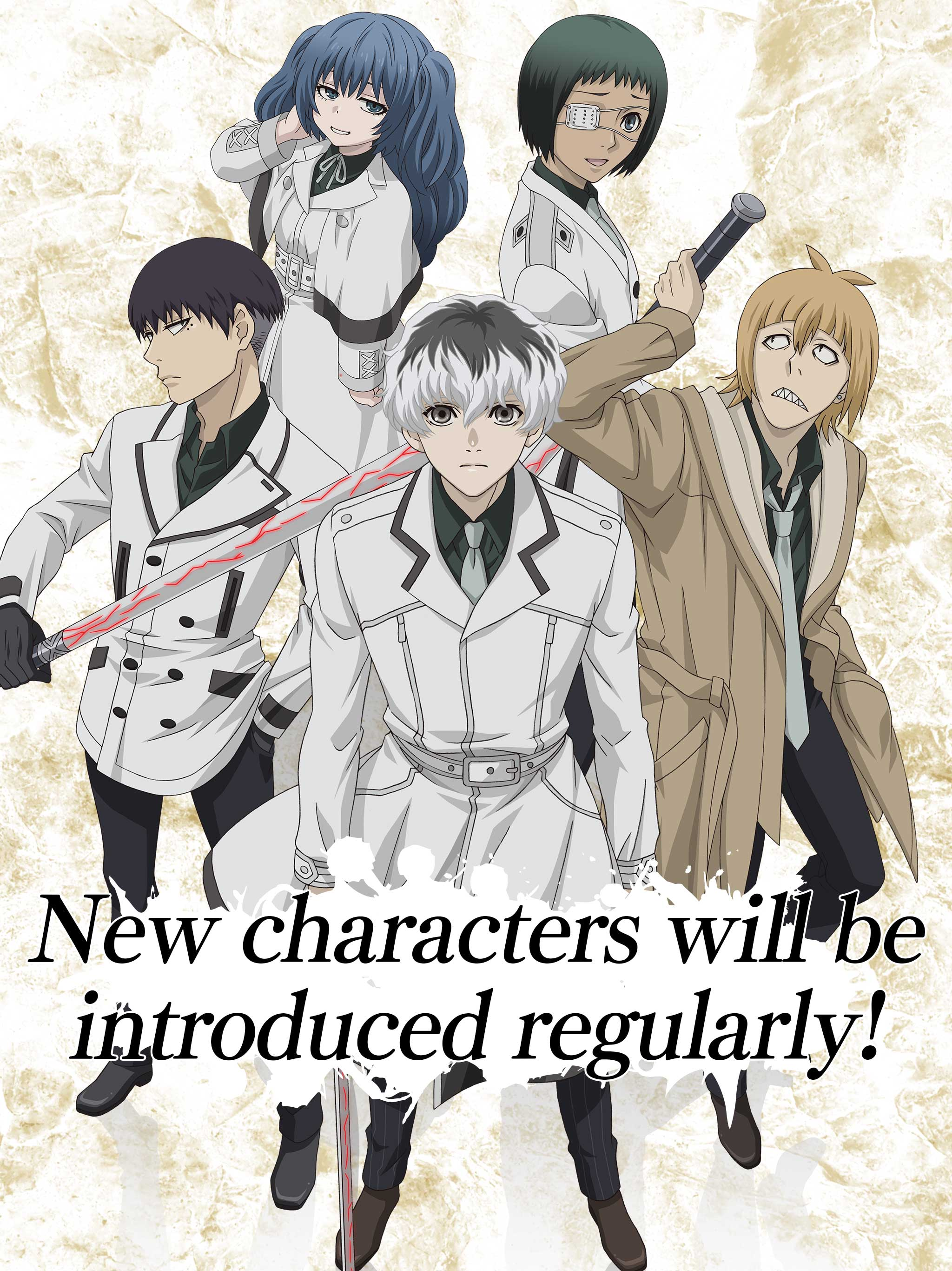 Tokyo Ghoul Re Birth Coming To Android And Ios The Arcade