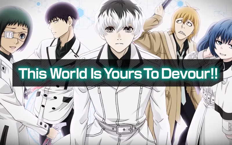 Tokyo Ghoul [:re birth] Coming To Android And iOS