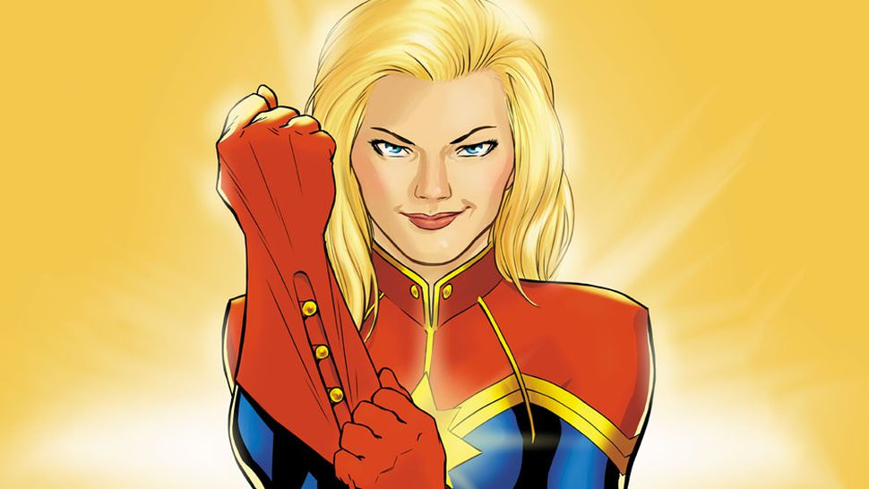 Captain Marvel Costume Is Glorious