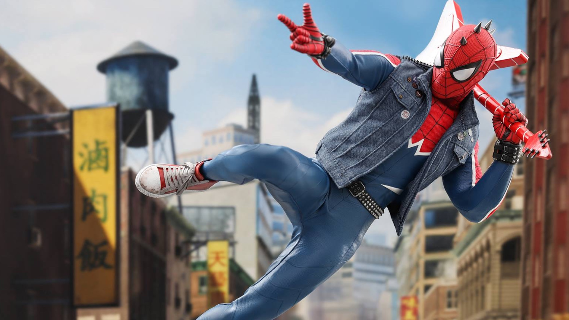 Hot Toys Tackle Video Game Spider-Man