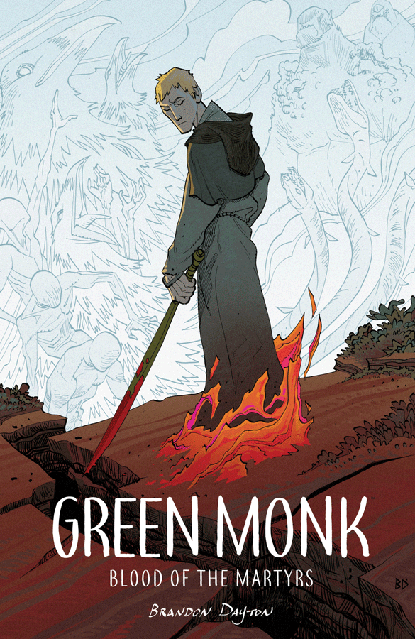 green monk