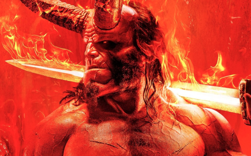 First Poster Art For Hellboy Reboot Released