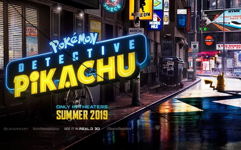 Catch The First Detective Pikachu Trailer