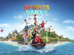 Sports Party Header