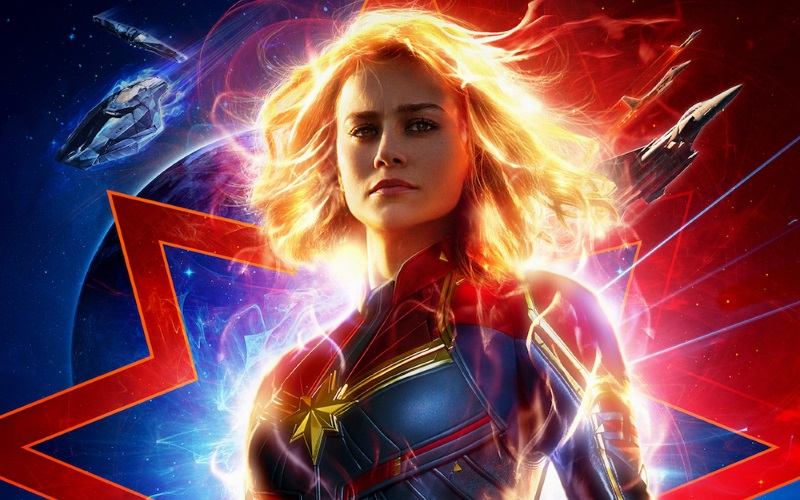 New Captain Marvel Trailer Gets Released