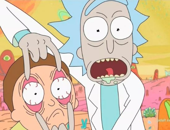 Rick and Morty On Channel 4 Header