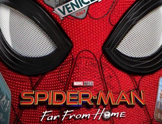 Spider-Man Far From Home Header