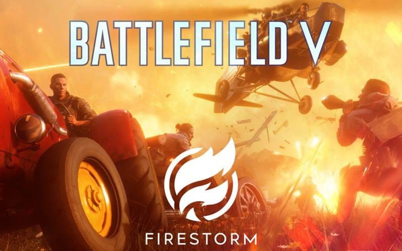 Battlefield V Releases It's Battle Royale Mode Firestorm