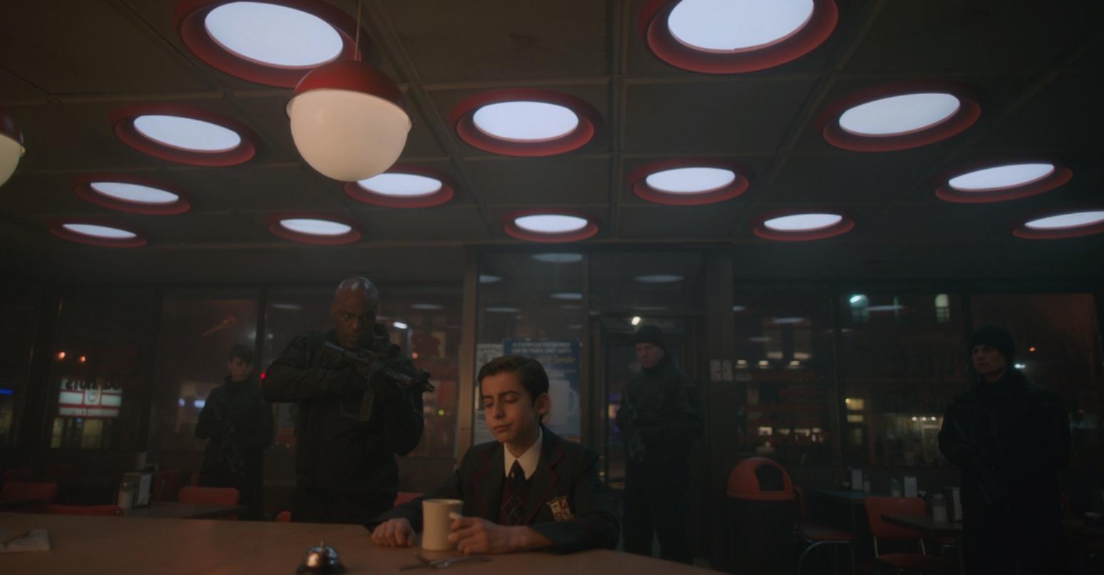 The Umbrella Academy Screenshot via Netflix