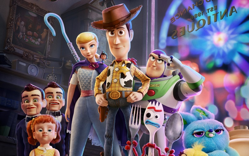 A New Friend Joins Toy Story 4