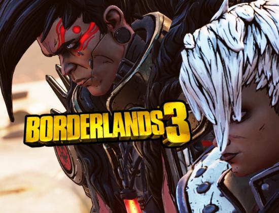 Borderlands 3 Twins Logo