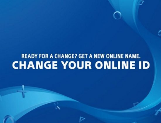 PSN Online ID Name Change