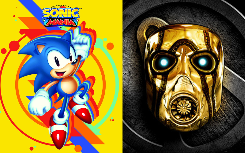Sonic Mania & Borderlands: The Handsome Collection Are Coming To PS Plus
