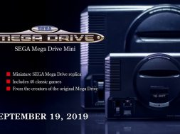 SEGA Mega Drive Mini Header