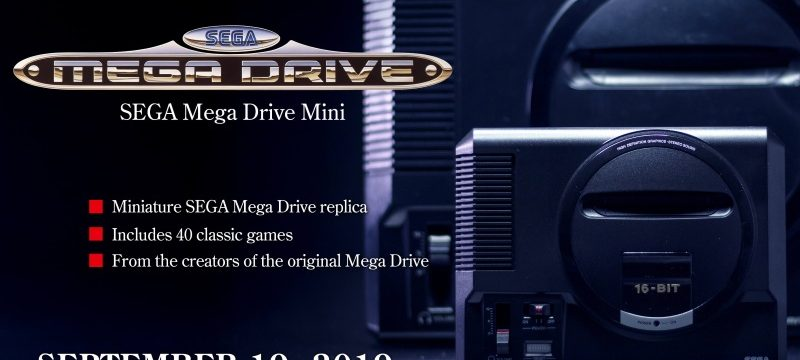 SEGA Mega Drive Mini Header