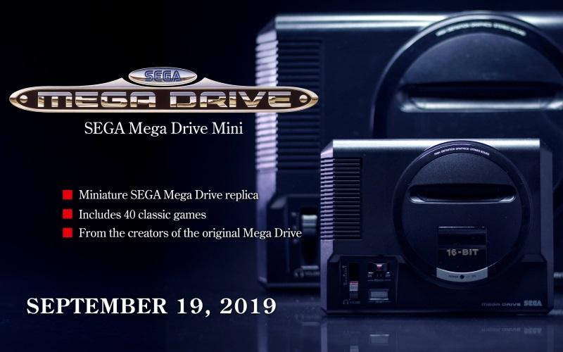 All 42 Games Announced For SEGA Mega Drive Mini