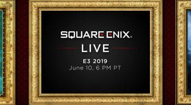 Square Enix E3 Header