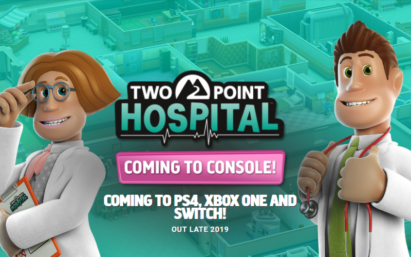 Two Point Hospital Announced For Consoles