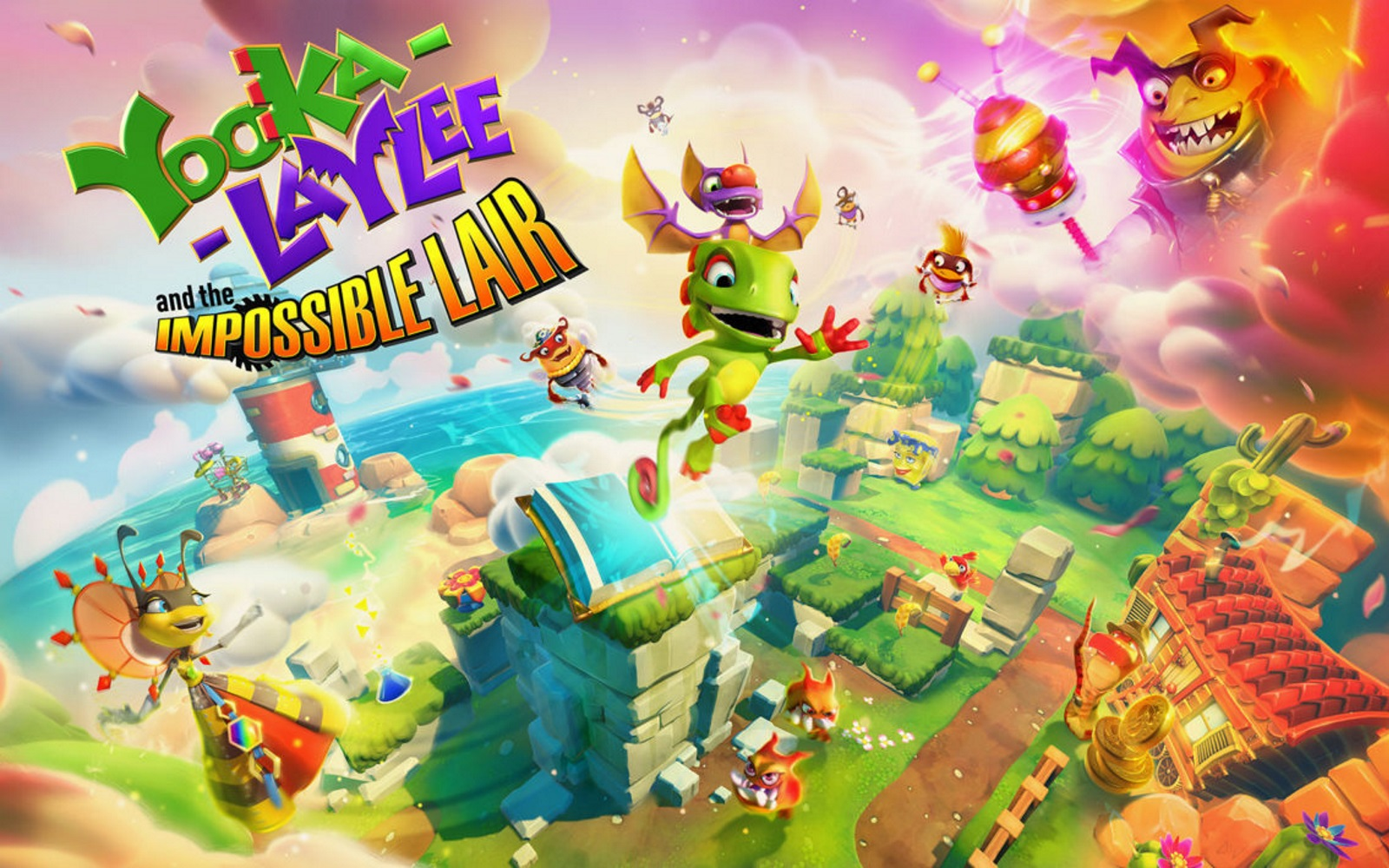 Yooka-Laylee And The Impossible Lair Hands-On And Release Date