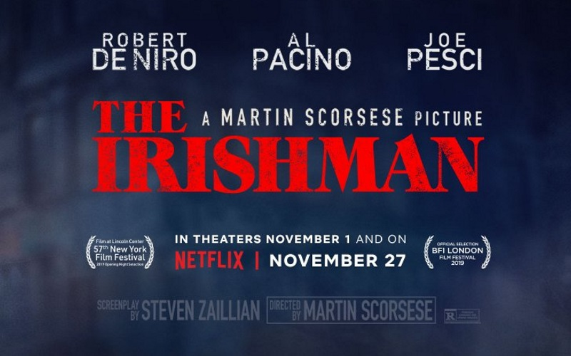 The Irishman Gets New Trailer And Release Info