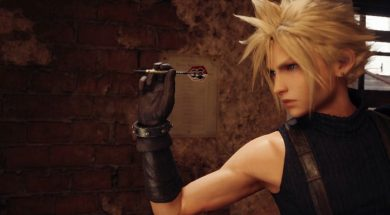 Final Fantasy VII Header