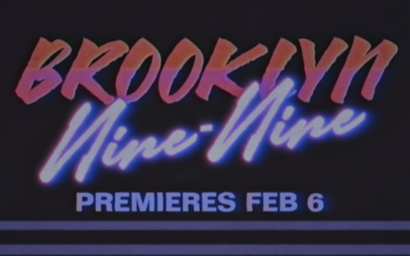 Brooklyn Nine-Nine Gets 80's Throwback Trailer For Season 7