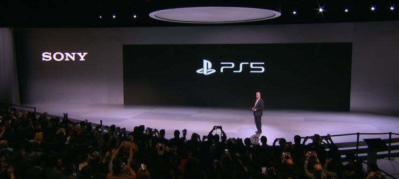 PS5 Logo Header