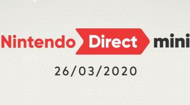 Nintendo Direct Mini Header
