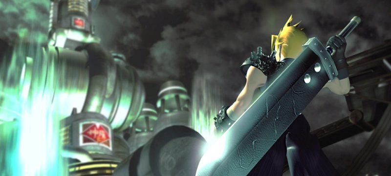 Final Fantasy VII original header