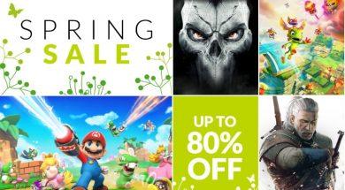 Nintendo Spring Sale