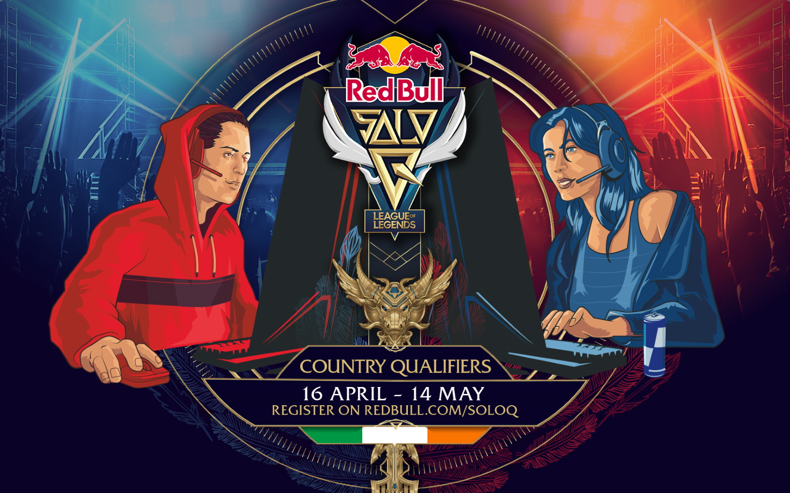 Live Stream Of Red Bull Solo Q League Of Legends Irish Qualifiers