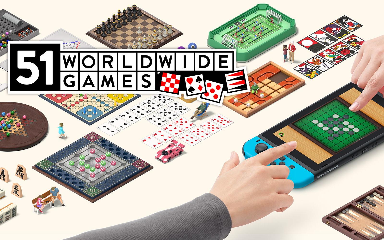 Take On Friends In 51 Worldwide Games On Switch