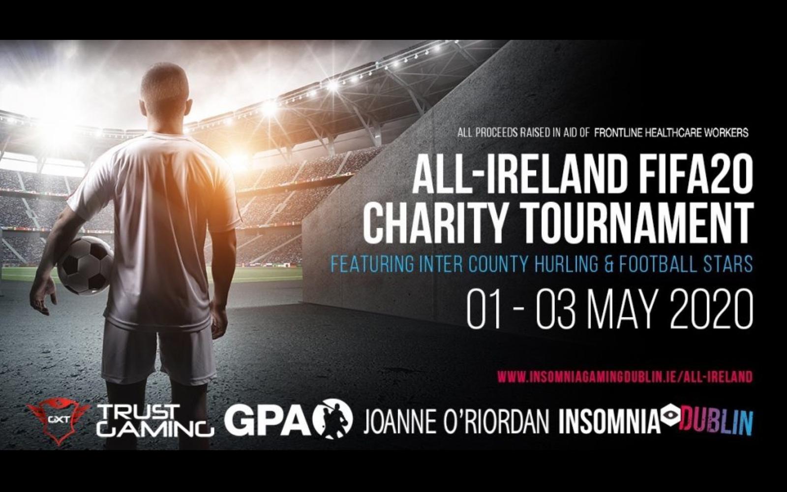 All-Ireland FIFA 20 Charity Tournament Starts May 1st