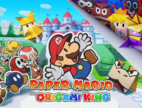 PAPER MARIO THE ORIGAMI KING header
