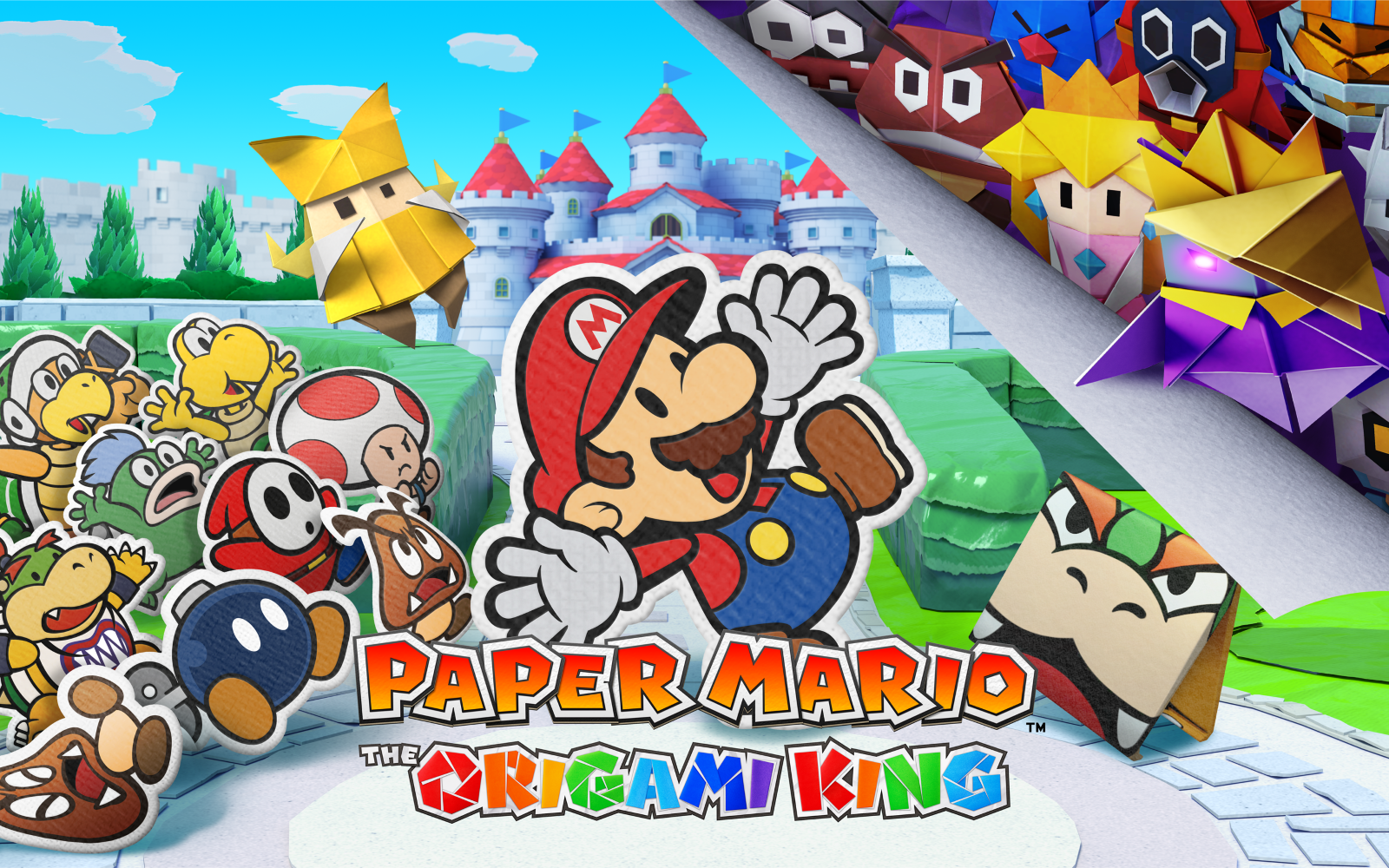 Paper Mario: The Origami King Unfolds On Switch In July