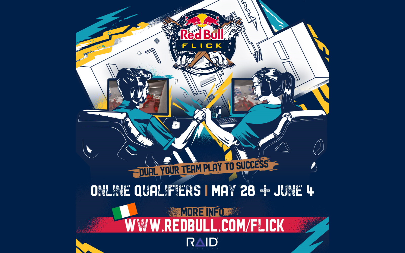 CS:GO Competition Announced, As Red Bull Flick Starts In May