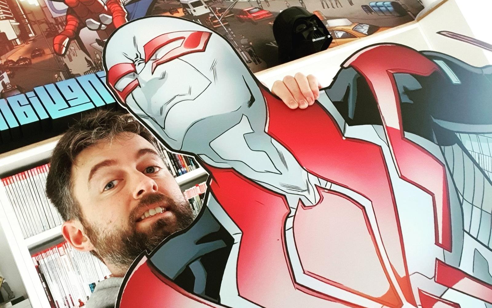 Irish Artist, Will Sliney, Doing A Special Marvel Livestream This Week