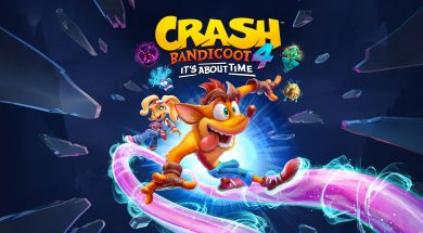 Crash Bandicoot 4 Header