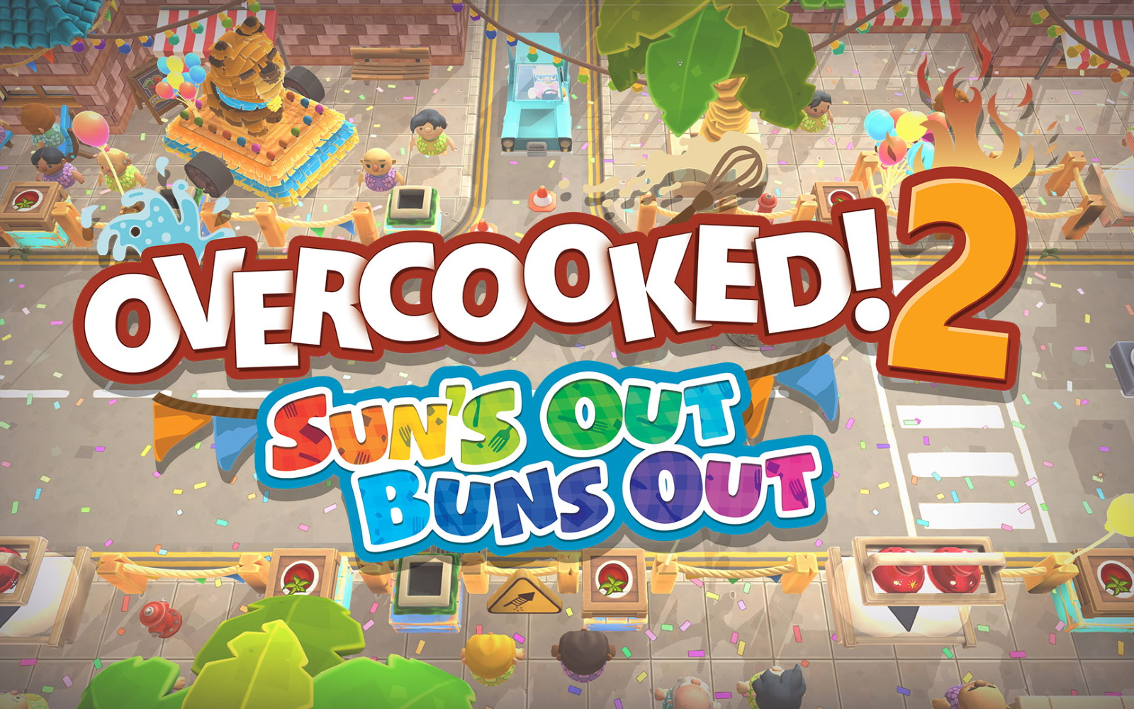 Overcooked 2 Getting Free Summer Themed DLC