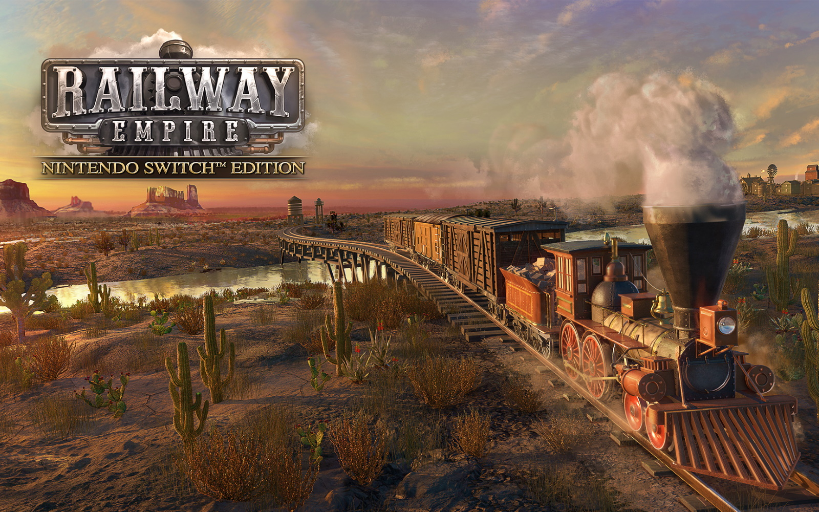 Railway Empire Arrives On Switch Today