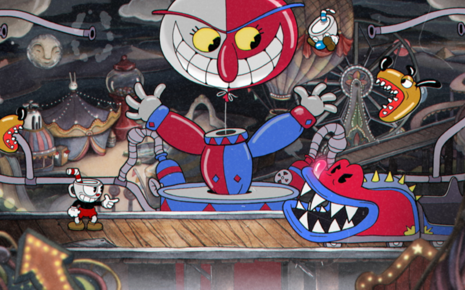 Cuphead Now Available For PlayStation 4 Players