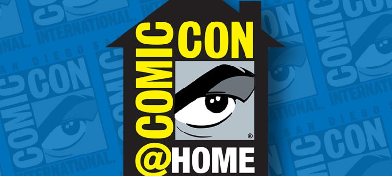 SDCC ComicCon at Home Header