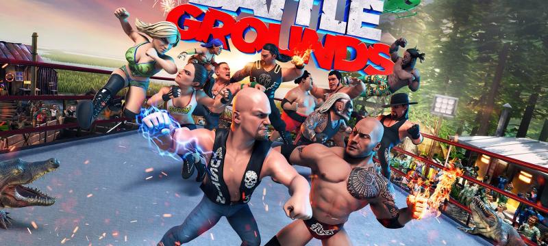 WWE 2K Battlegrounds header