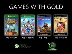 Games With Gold August 2020 Header