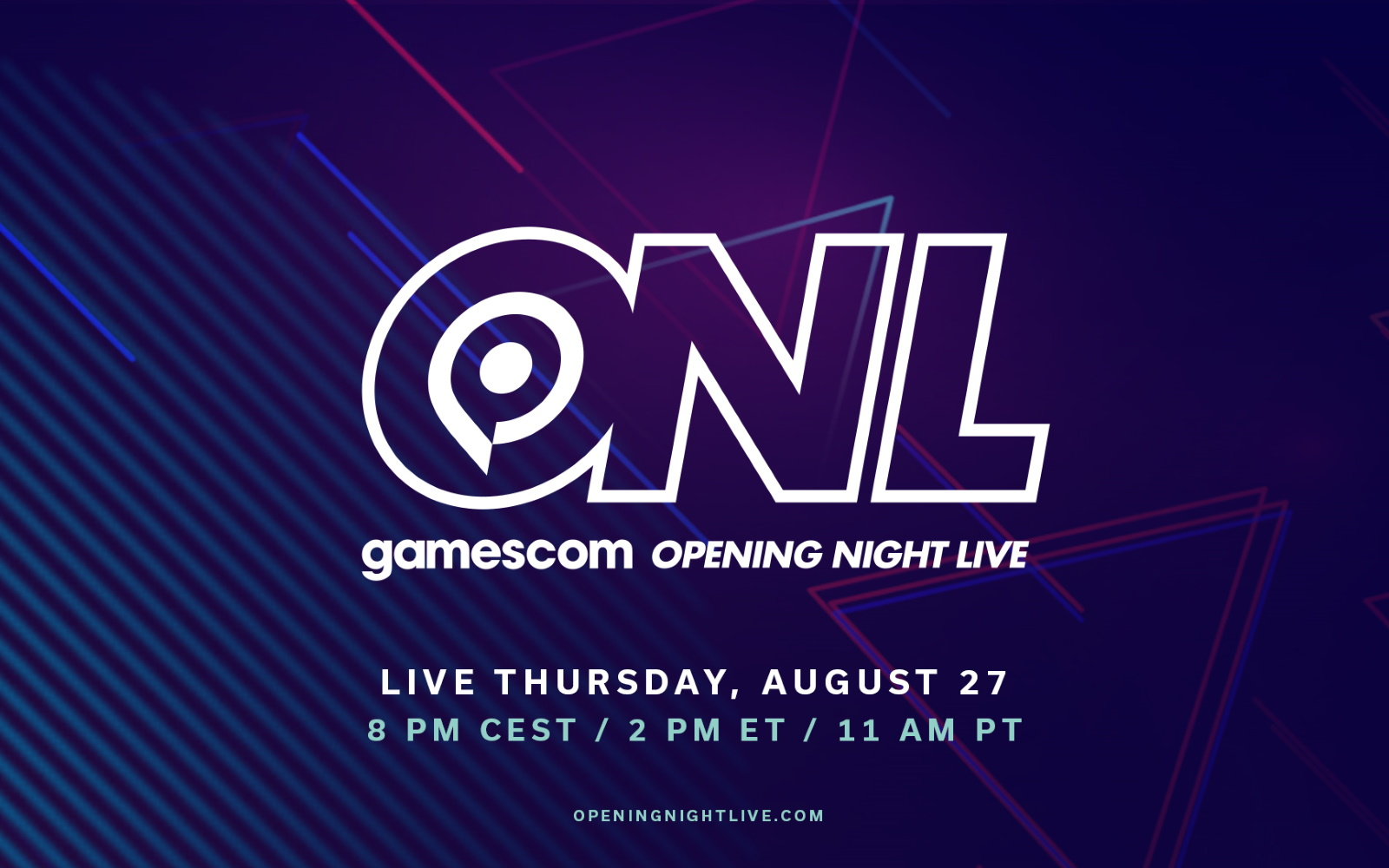 Gamescom: Opening Night Live Will Have Some Big World Premieres, Demos & Announcements