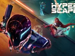 Hyper Scape Launch Header